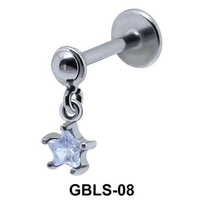 Star External Dangling Ear Piercing GBLS-08