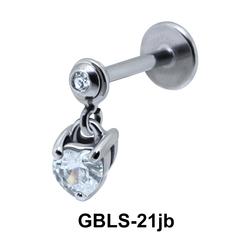 Heart Stone External Dangling GBLS-21jb