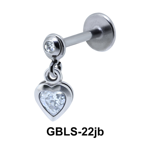 Enclosed Heart External Dangling GBLS-22jb