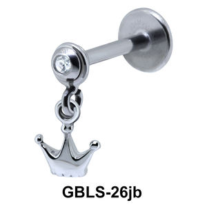 Crown External Dangling with Stone GBLS-26jb