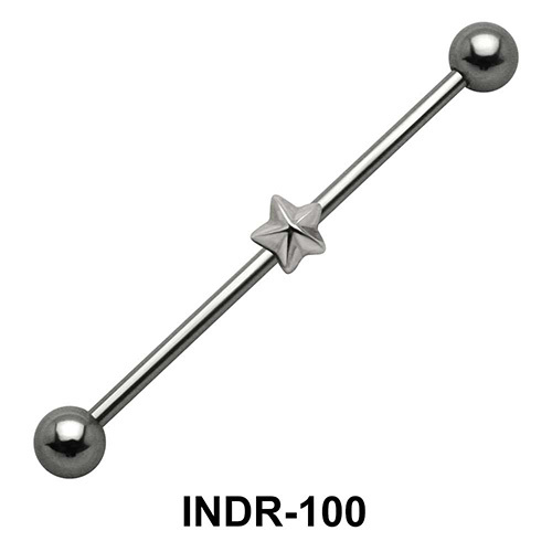 Starred Industrial Piercing INDR-100