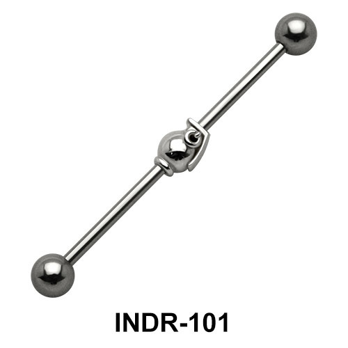 Quaint Brass Industrial Piercing INDR-101