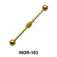 Snake Motif Industrial Piercing INDR-103