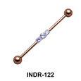 CZ Studded Industrial Piercing INDR-122
