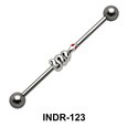 Coiled Snake Industrial Piercing INDR-123