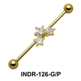 Triple Star Industrial Piercing INDR-126