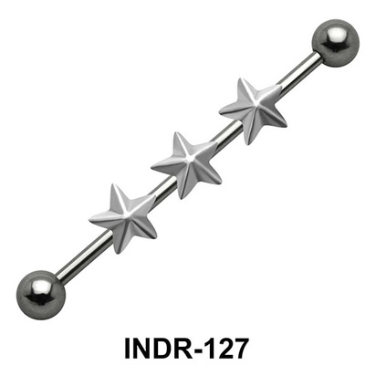 Triple Star Industrial Piercing INDR-127