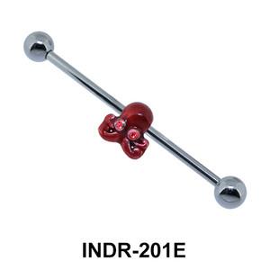 Enamel Octopus Industrial Piercing INDR-201E