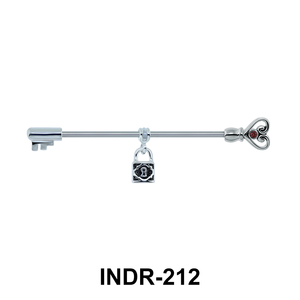 Padlock Keys Ear Piercing INDR-212