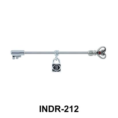 Padlock Keys Ear Piercing INDR-212