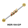Industrial Piercing With A Twist INDR-104