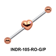Heart In Industrial Piercing INDR-105