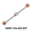 Brass Star Industrial Piercing INDR-112s