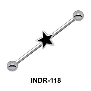 Enamel Star Industrial Piercing INDR-118