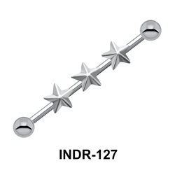 Triple Star Industrial Piercing INDR-127