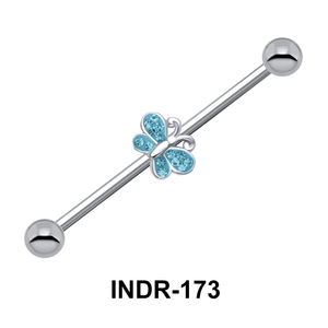 Butterfly Industrial Piercing INDR-173