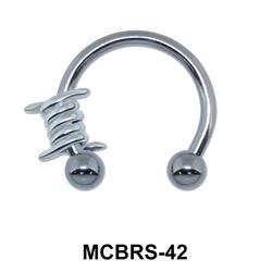 Knot Circular Barbells Face Piercing MCBRS-42