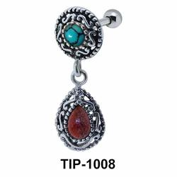 Traditionally Designed Upper Ear Piercing TIP-1008