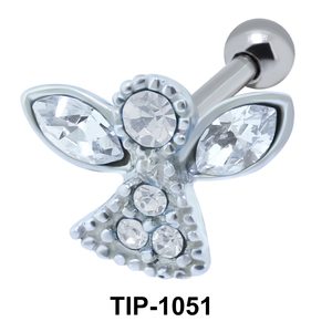 Angel Shaped Ear Piercing TIP-1051