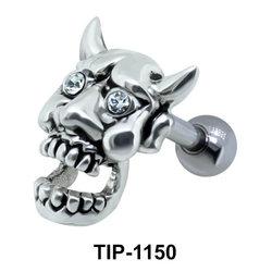 Devil Face Shaped Helix Piercing TIP-1150