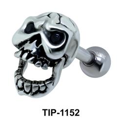 Skull Helix Ear Piercing TIP-1152