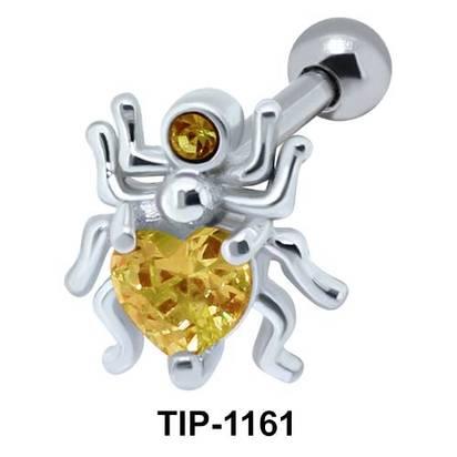 Spider Shaped Ear Piercing TIP-1161