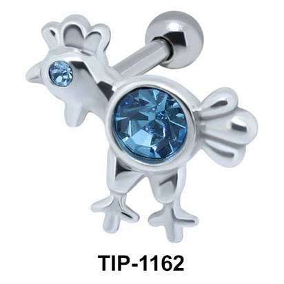 Rooster Shaped Ear Piercing TIP-1162