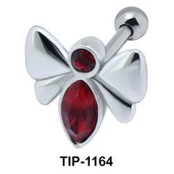 Stone Butterfly Helix Ear Piercing TIP-1164