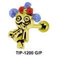Pirate Shaped Ear Piercing TIP-1200