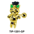 Decorated Doll Shaped Ear Piercing TIP-1201