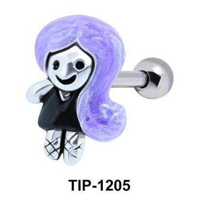 Female Doll Shaped Ear Piercing TIP-1205