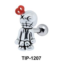 Boy Doll with Key Shaped Ear Piercing TIP-1207