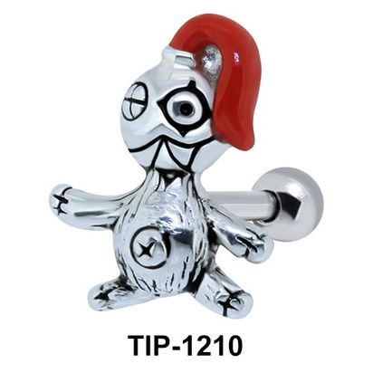 Pirate Shaped Ear Piercing TIP-1210