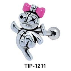 Dancing Doll Shaped Ear Piercing TIP-1211