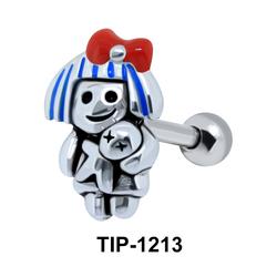 Voodoo Upper Helix Ear Piercing TIP-1213