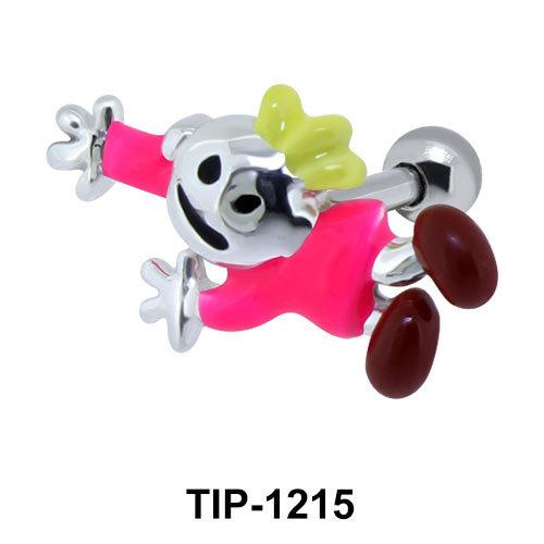 Crawling Voodoo Doll Upper Ear Piercing TIP-1215