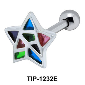 Star Shaped Ear Piercing TIP-1232E