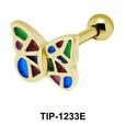 Butterfly Shaped Ear Piercing TIP-1233E