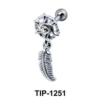 Leaf Dangling Ear Piercing TIP-1251