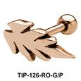 Pine leaf Shaped Helix Piercing TIP-126