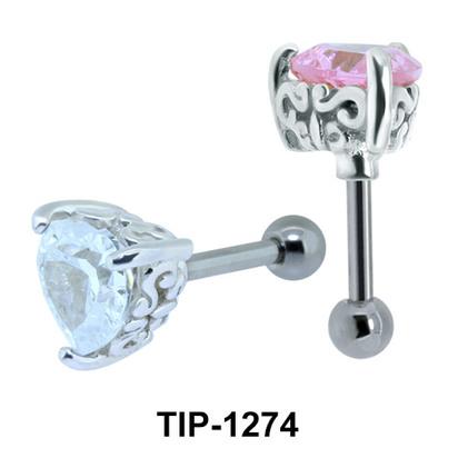Heart Shaped Ear Piercing TIP-1274