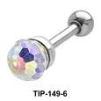 Crystal Set Helix Piercing TIP-149-4