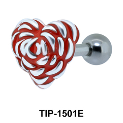 Heart Shaped Ear Piercing TIP-1501E