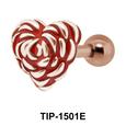 Heart Shaped Ear Piercing TIP-1501E