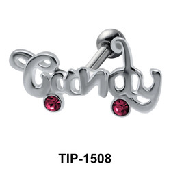 Candy Shaped Helix Ear Piercing TIP-1508