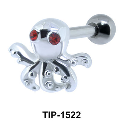 Octopus Shaped Ear Piercing TIP-1522
