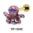 Octopus Shaped Ear Piercing TIP-1522E