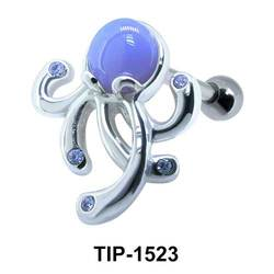 Octopus Shaped Ear Piercing TIP-1523
