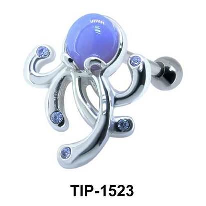 Octopus Shaped Ear Piercing TIP-1523