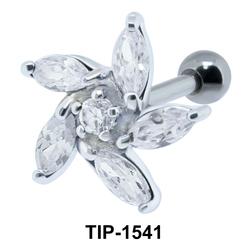 Flower Shaped Ear Piercing TIP-1541
